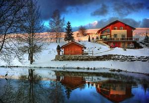 Домик в Австрии