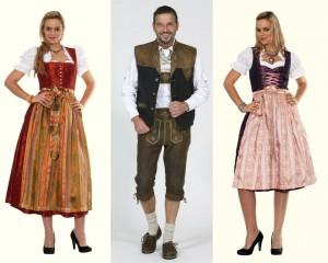 Народная одежда в Австрии