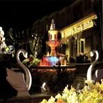Вид на отель вечером